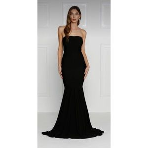 Alamour the Label Nicoletta Strapless Evening Gown